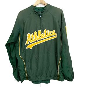 Oakland Athletics Pullover Windbreaker MLB Top
